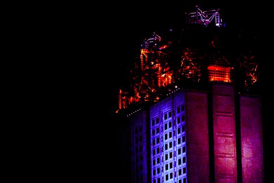 Ночной Забег, две башни