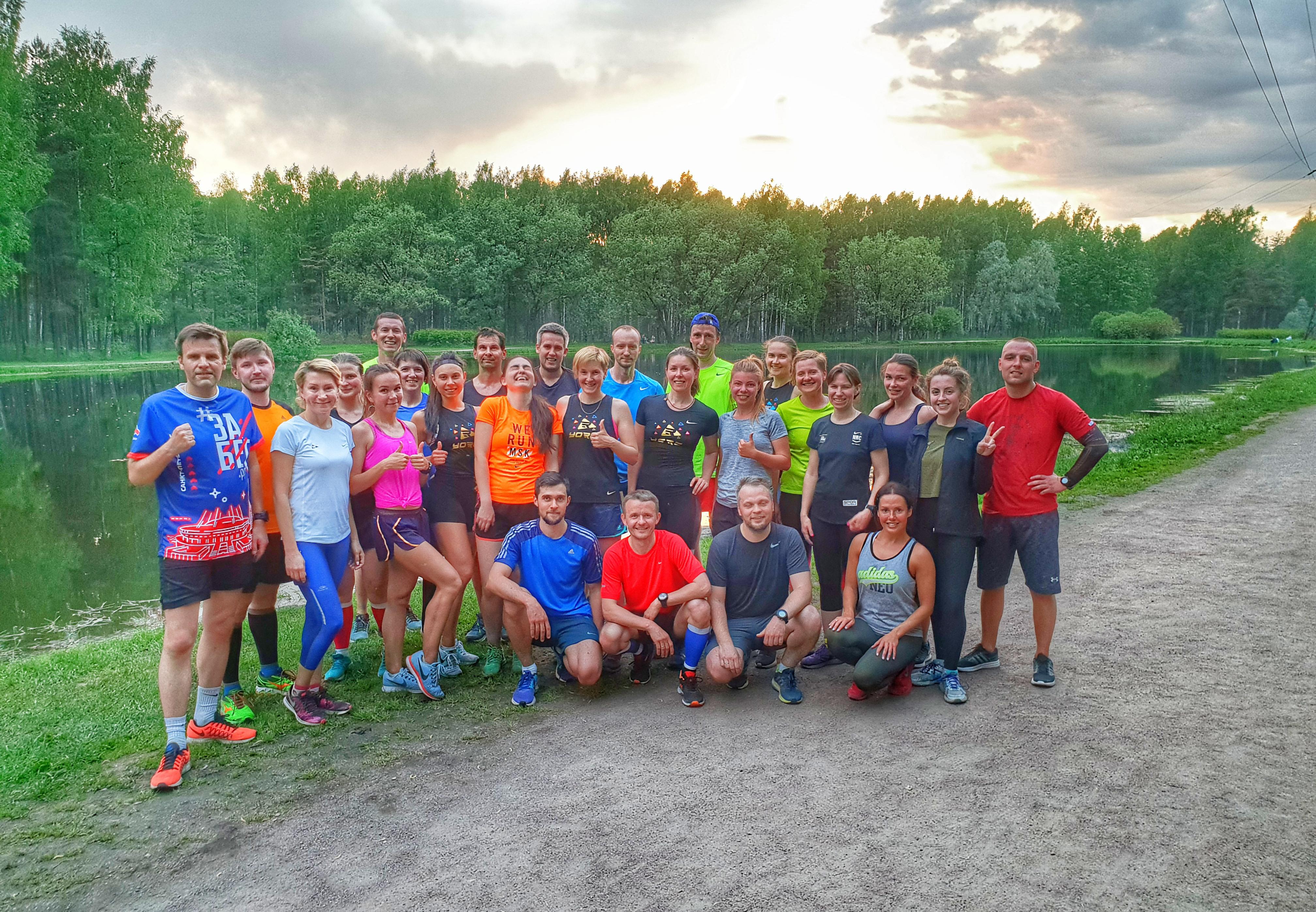 Беговой клуб YORC runners, Санкт-Петербург