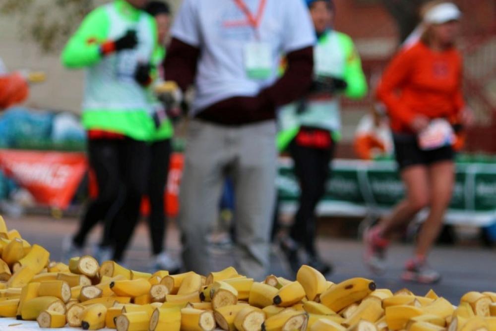 """Питание на марафоне. Тайна марафонской """"стены"""""""