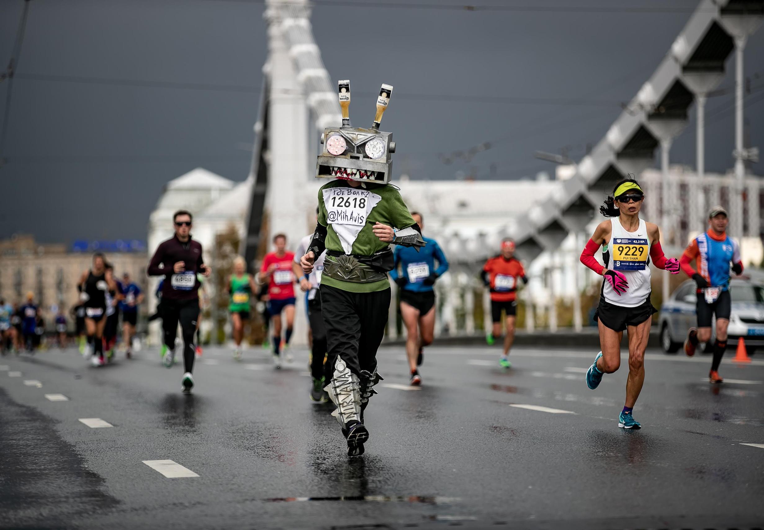 Косплей на марафоне