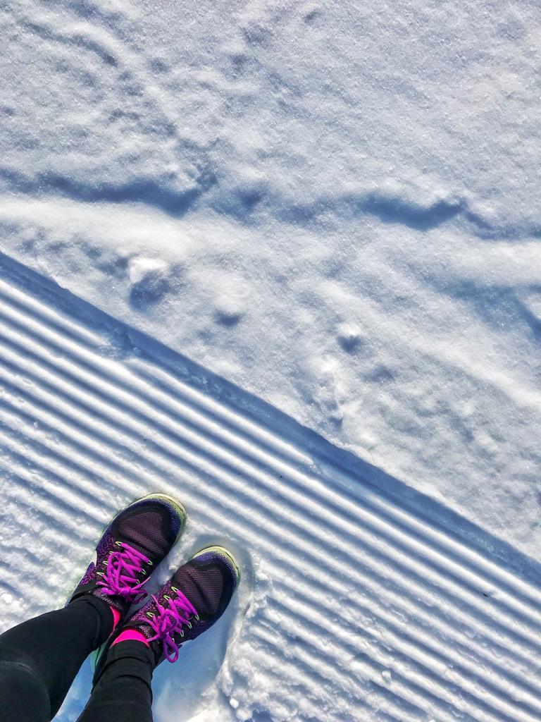 Существует ли бег зимой?